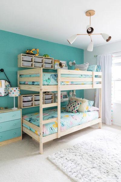 маленькая детская комната без окна