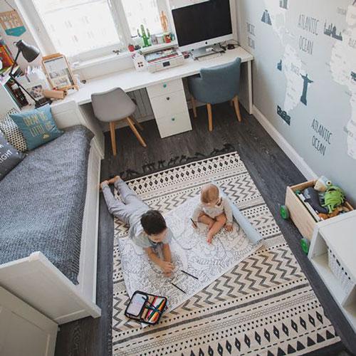 детская мебель в маленькую комнату идеи оформления 4