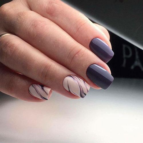 Модные тенденции дизайна ногтей осенью 10