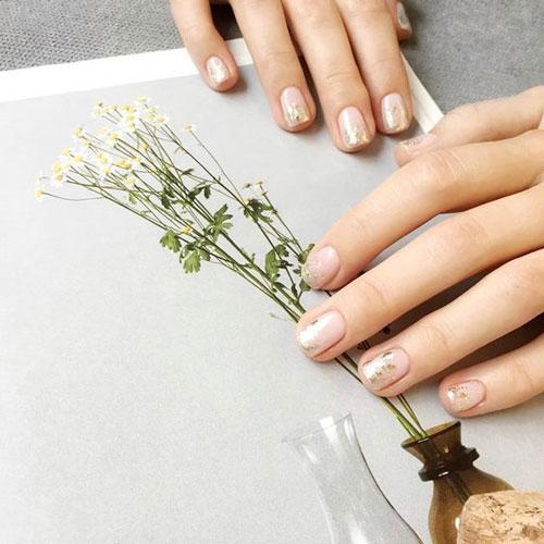 Модные тенденции дизайна ногтей осенью 9
