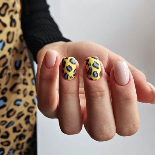 Модные тенденции осеннего маникюра на короткие ногти