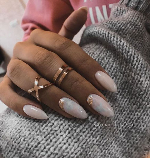 дизайн ногтей миндальной формы осень 2021 10