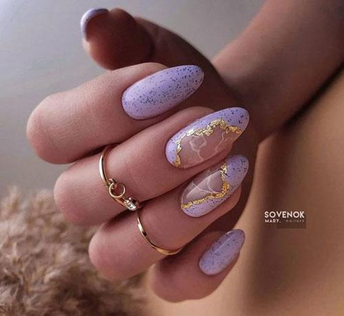 дизайн ногтей миндальной формы осень 2021 9