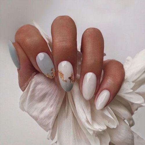 дизайн ногтей миндальной формы осень 2021 6