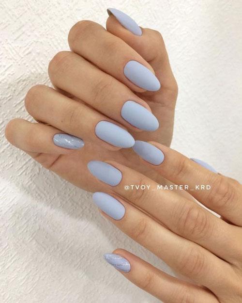дизайн ногтей миндальной формы осень 2021 5