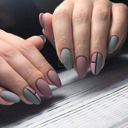 Дизайн ногтей миндаль 2021 осень фото 8