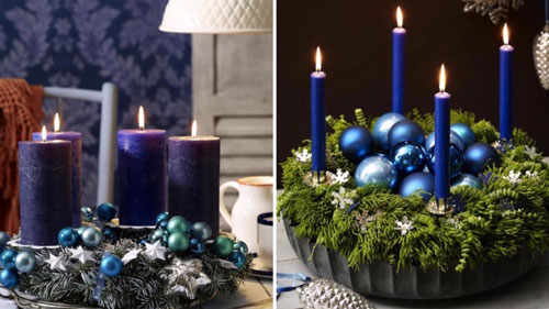 Новогодние свечи своими руками в домашних условиях