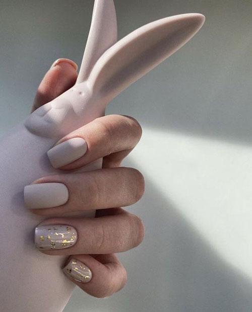 красивый осенний маникюр на длинные ногти с фото 4