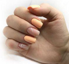 варианты осеннего маникюра на короткие ногти