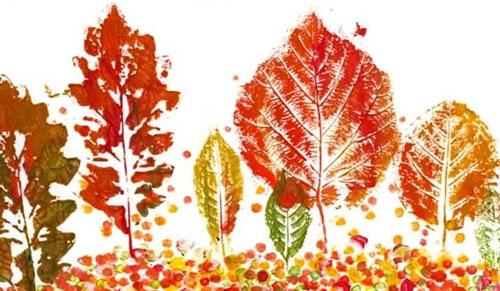 поделки из бумаги на тему осень для детского сада 2
