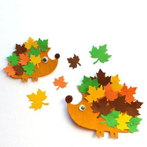 поделки из бумаги на тему осень для детского сада своими руками 8
