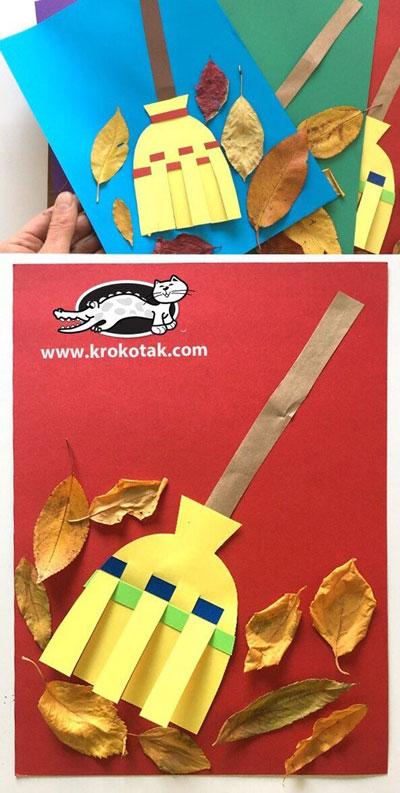 поделки из бумаги на тему осень для детского сада своими руками 2