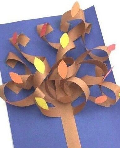 поделки из бумаги на тему осень 3 класс 5