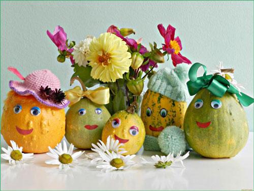 поделки овощи и фрукты для детского сада