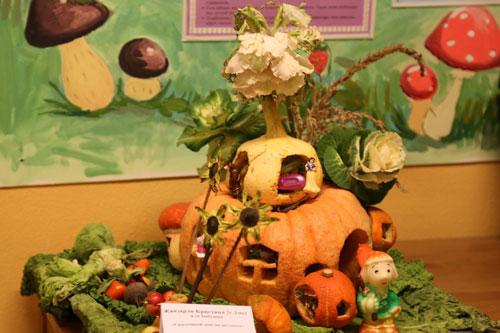 поделки из овощей и фруктов в детский сад своими руками на тему осенняя фантазия 4