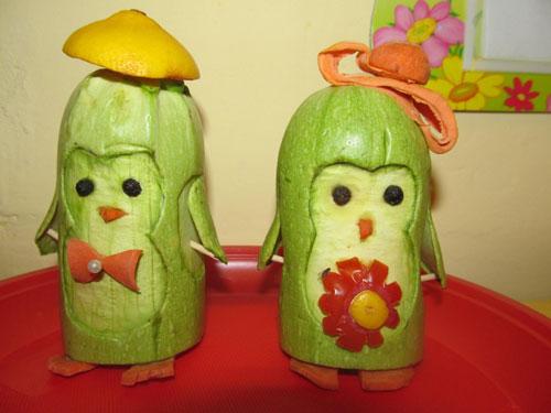 в детский сад поделки из фруктов и овощей своими руками 6