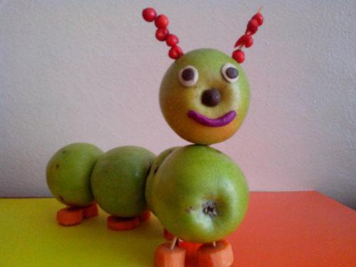 в детский сад поделки из фруктов и овощей своими руками 3
