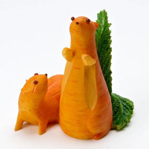 поделки из овощей и фруктов 3 класс