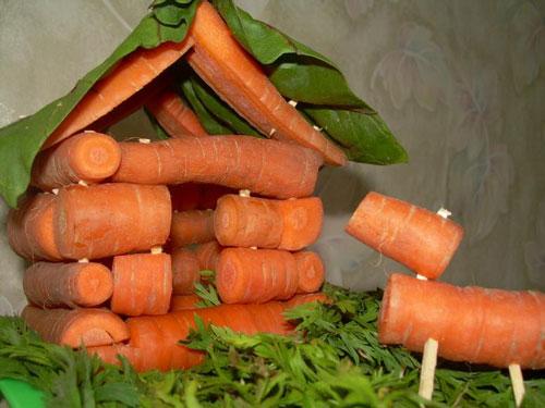 поделки из овощей и фруктов 4 класс