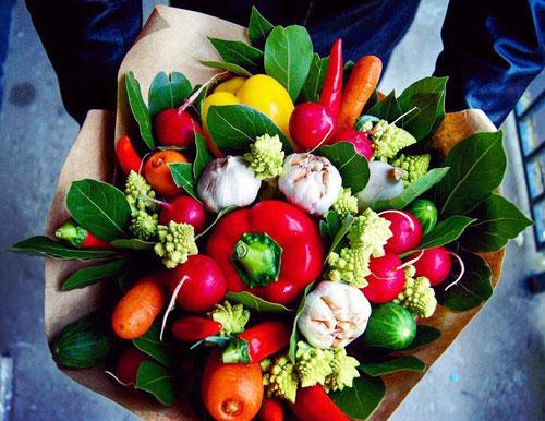 поделки в сад из овощей и фруктов