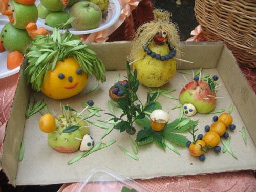 фруктово-овощные поделки в детский сад своими руками 5