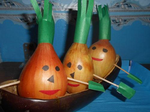 поделки овощи и фрукты для детского сада 2