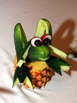 поделки из овощей и фруктов в детский сад 7
