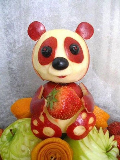 поделки из овощей и фруктов в детский сад 5