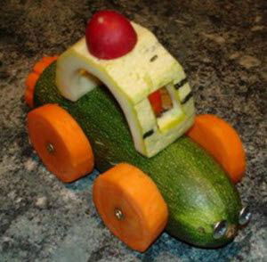 поделки из фруктов и овощей в детский сад своими руками 10