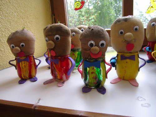 поделки из фруктов и овощей в детский сад своими руками 5