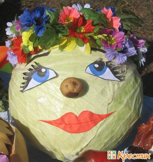 детские поделки из овощей и фруктов своими руками в сад 9
