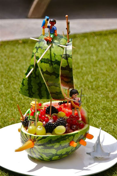 детские поделки из овощей и фруктов своими руками в сад 4