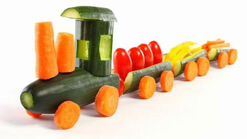 детские поделки из овощей и фруктов своими руками в сад 3