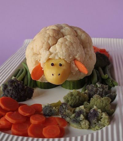 поделки из овощей и фруктов картинки