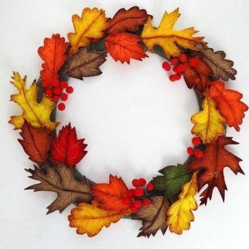 детские поделки из листьев на тему осень в школу 3