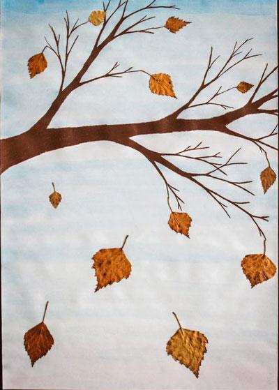 Поделки из листьев на тему осени своими руками 1