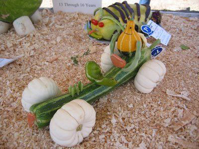 поделки из овощей для детей в сад на тему осень 4