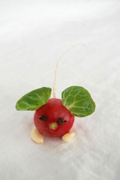 поделки из овощей для детей в сад на тему осень 3