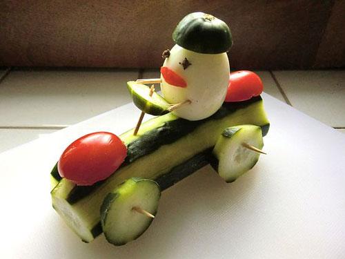 поделки из овощей для детей на тему осень 9