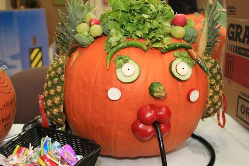 поделки из овощей для детей на тему осень 7
