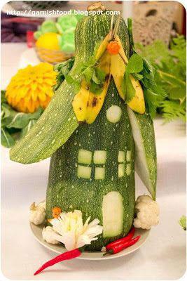 поделки из овощей для детей в школу на тему осень 9