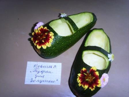Поделки на тему осень из овощей в садик 7