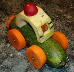 поделки из овощей для детей в школу на тему осень 7