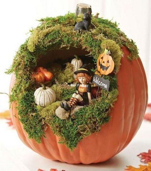 Поделки на тему осень из овощей для детей 8
