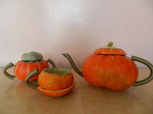 поделки на тему осень из овощей и фруктов своими руками