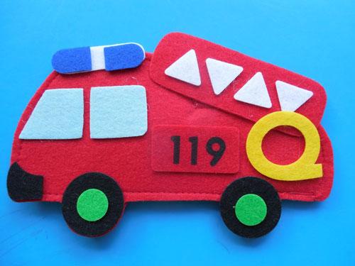 детские поделки на тему пожарная безопасность 2