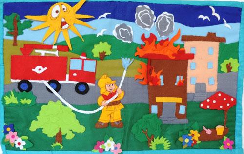 детские поделки на тему пожарная безопасность 7