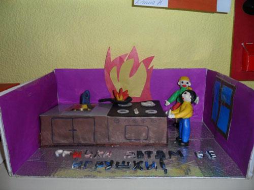 поделки своими руками тема пожарная безопасность 3
