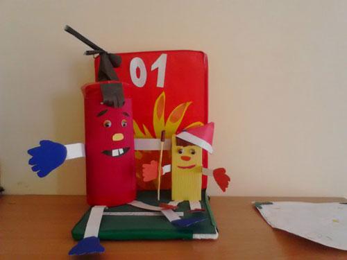 поделки на тему пожарная безопасность для детского сада своими руками 7