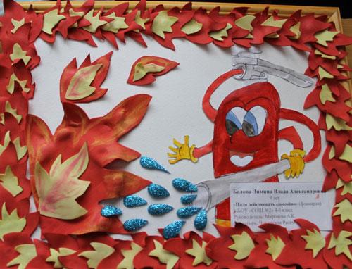 поделки на тему пожарная безопасность для детского сада своими руками 6